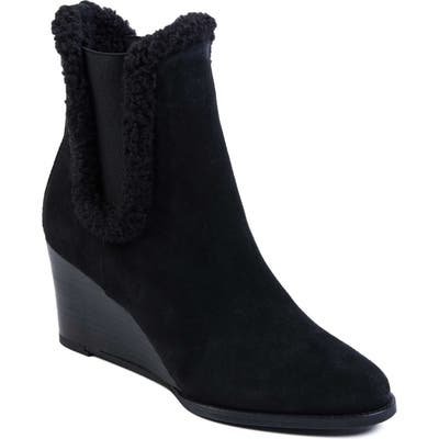 Andre Assous Sasha Wedge Bootie, Black