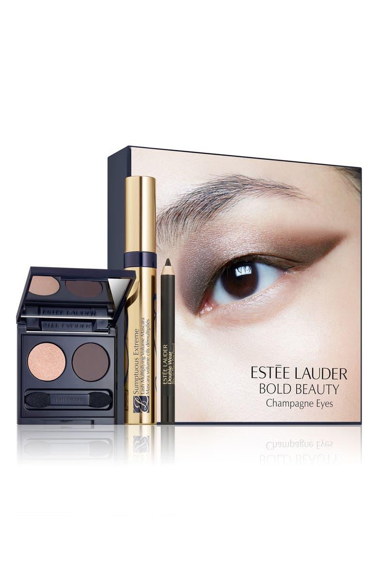ESTÉE LAUDER Bold Beauty Champagne Eyes Set, Main, color, 000