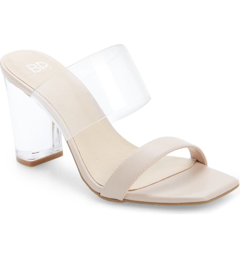 BP. Naomi Sandal, Main, color, BLUSH FAUX LEATHER