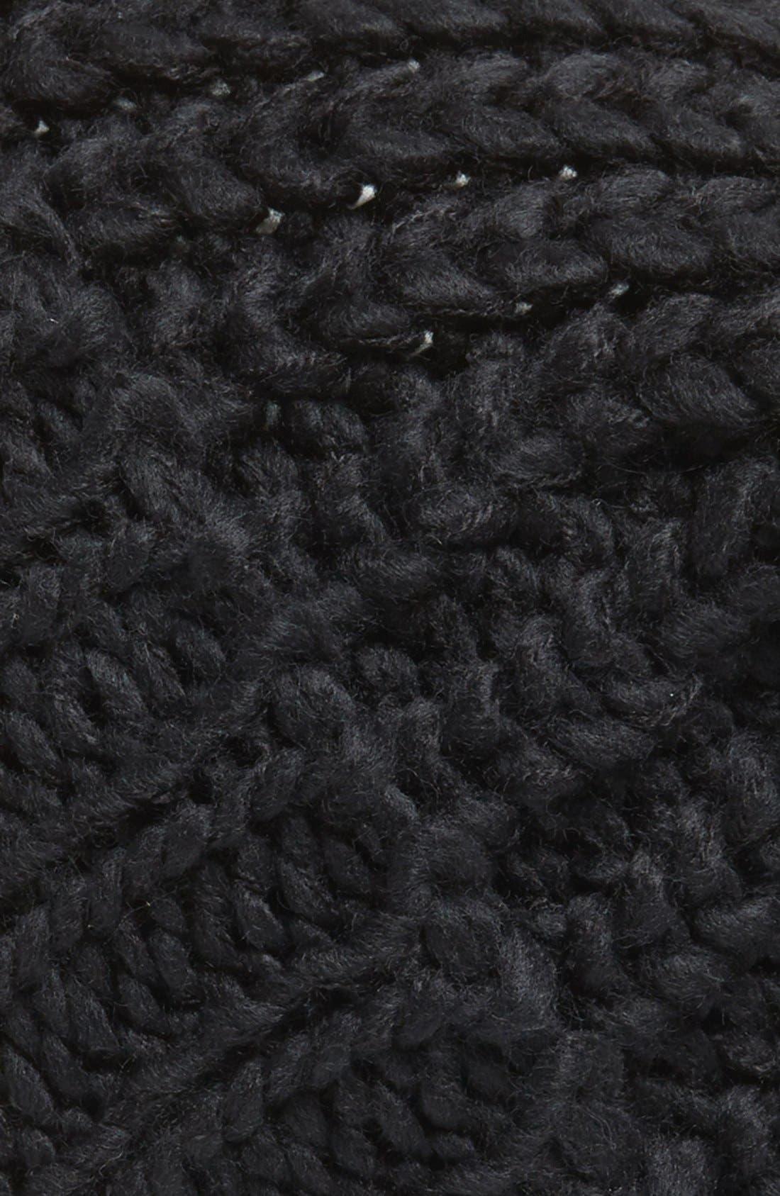 ,                             Chunky Rib Knit Beanie,                             Alternate thumbnail 2, color,                             001