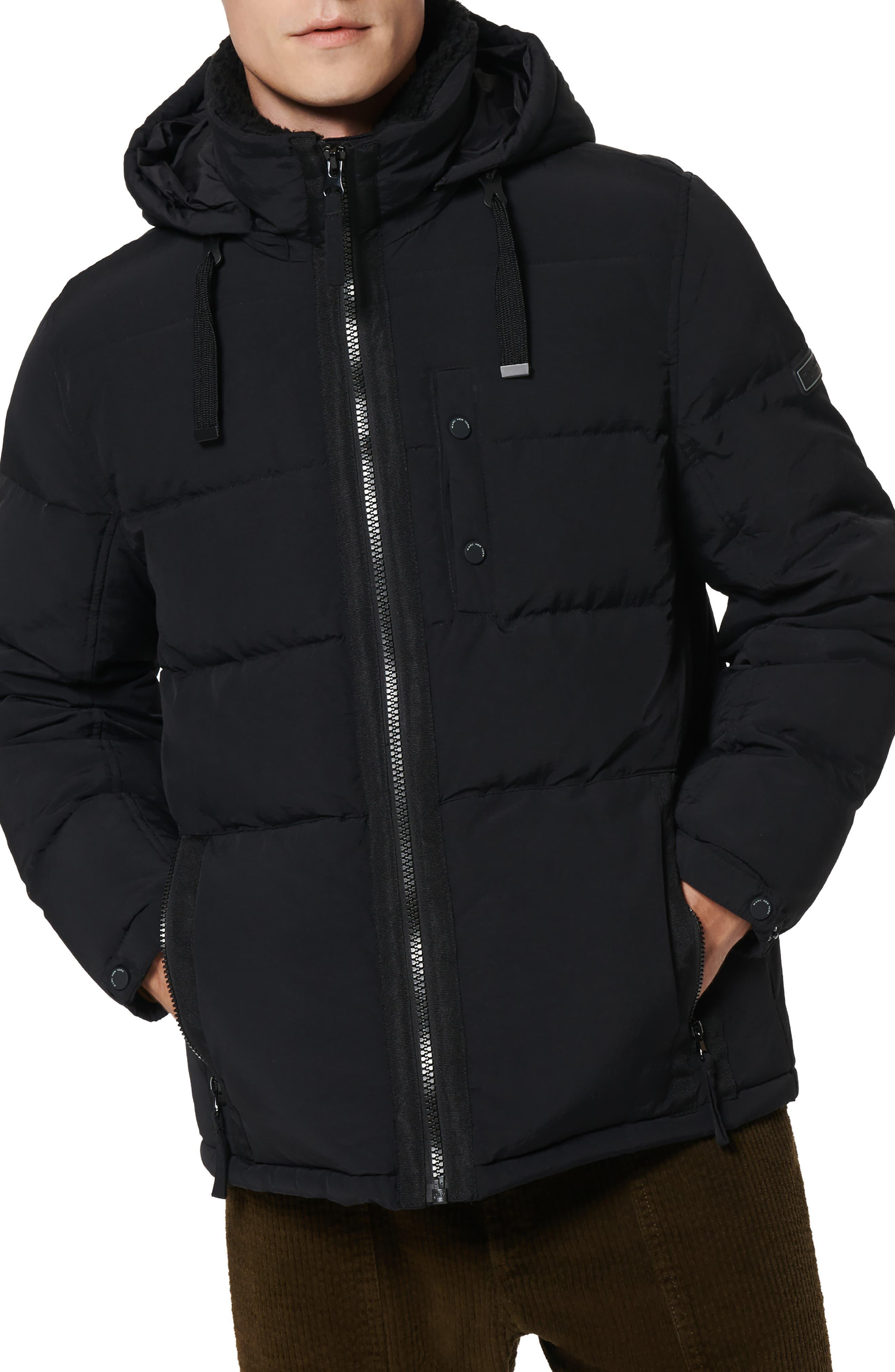 Hubble Fleece Collar Water Resistant Puffer Coat