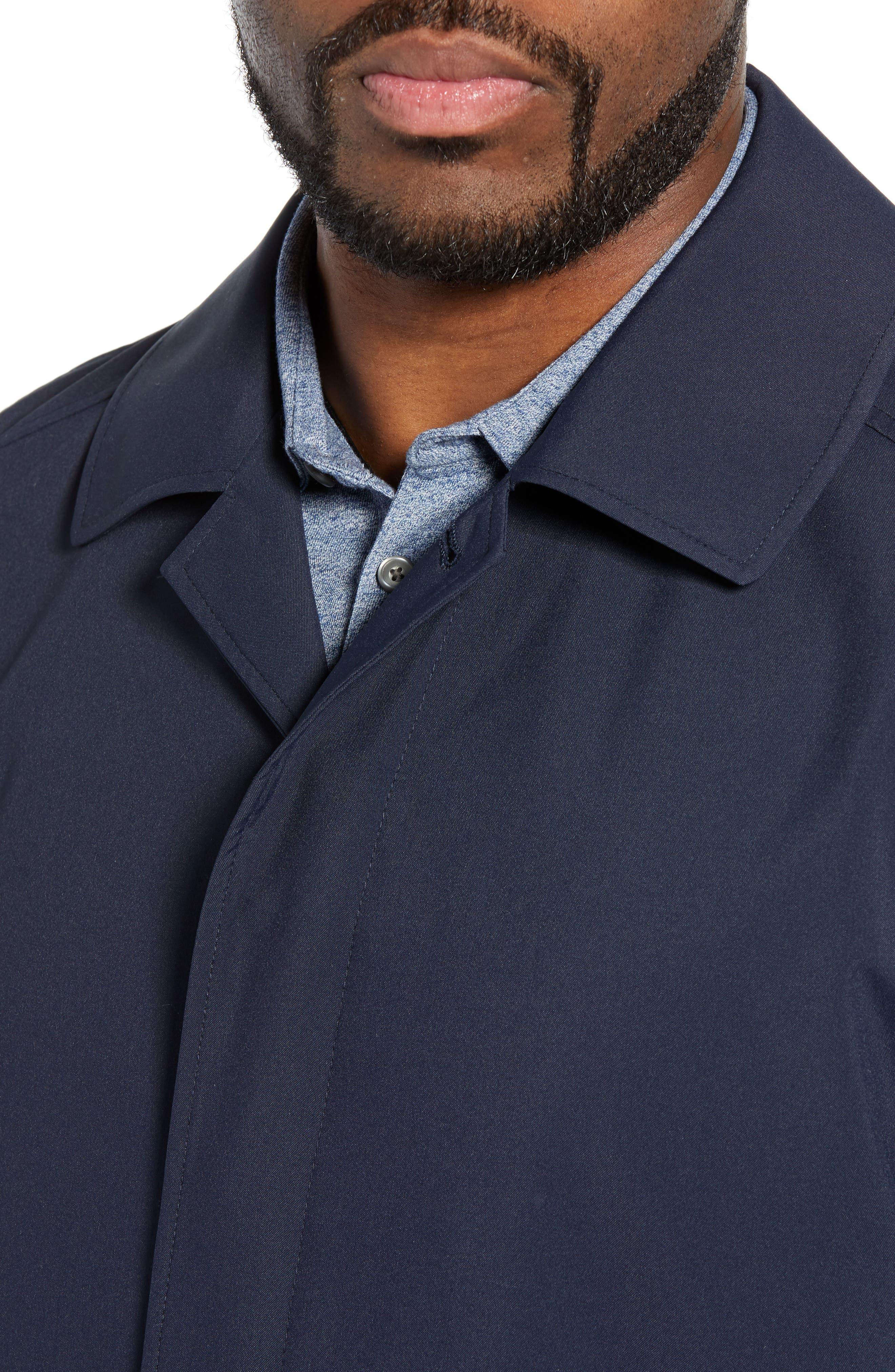 ,                             Lightweight Overcoat,                             Alternate thumbnail 5, color,                             BLUE OASIS