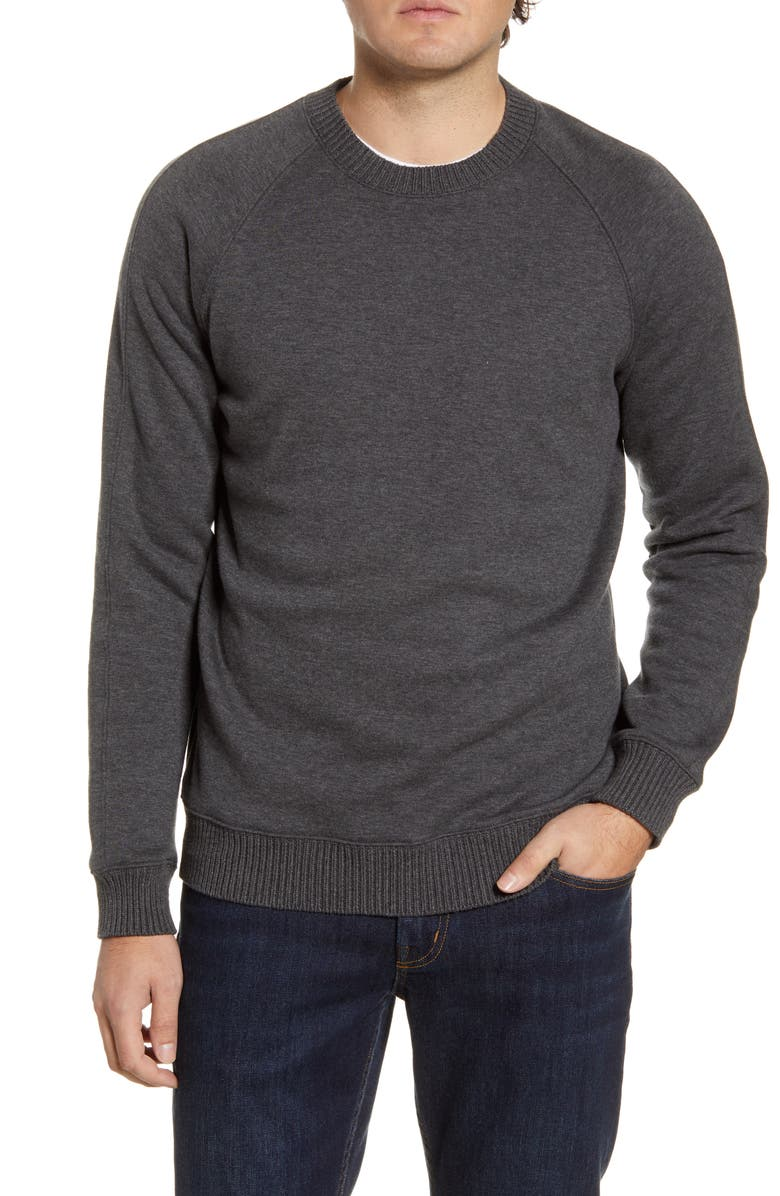 LIFE/AFTER/DENIM Misty Mountain Sweater, Main, color, HEATHER CHARCOAL