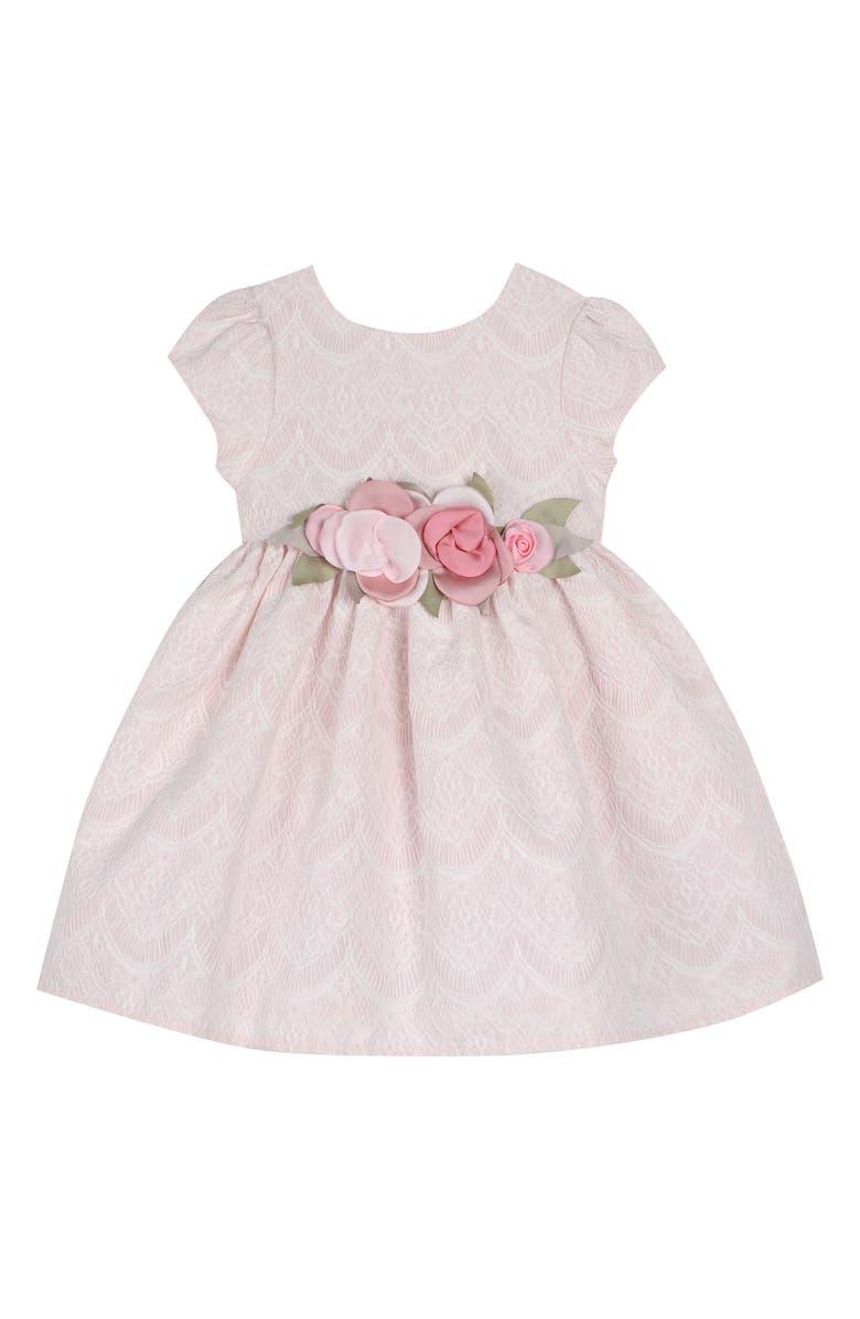 PIPPA & JULIE Lace Party Dress, Main, color, 650