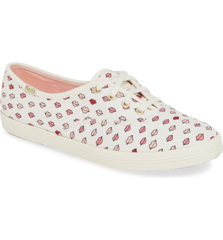 KEDS<SUP>®</SUP> x kate spade new york Champion Lips Sneaker, Main, color, 100