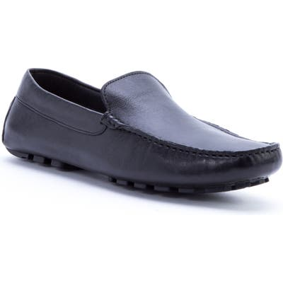 Zanzara Picasso 3 Moc Toe Driving Loafer- Black