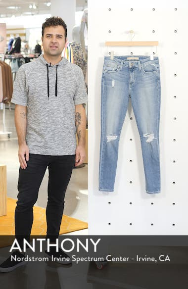 Flawless - Icon Ripped Ankle Skinny Jeans, sales video thumbnail