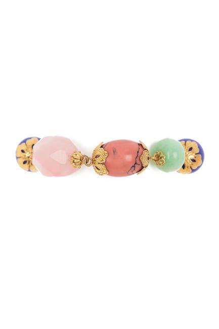 Image of Carolee Bead & Tassel Toggle Bracelet