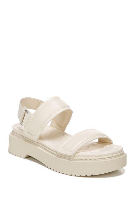 Image of Franco Sarto Winda Leather Platform Sandal