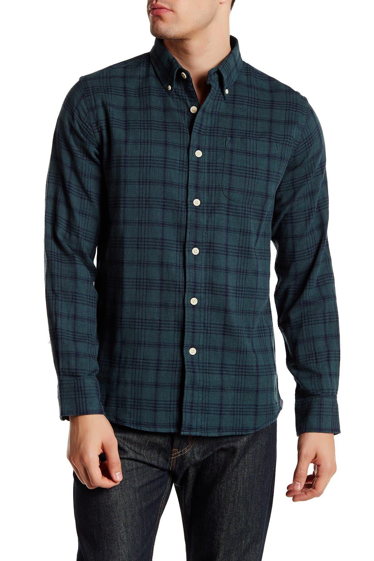 Image of Grayers Regular Fit Plaid Flannel Shirt