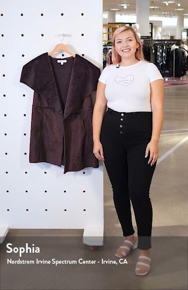 Faux Shearling & Knit Vest, sales video thumbnail