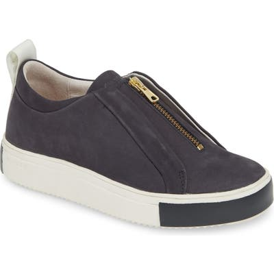 Blackstone Rl62 Zip Front Sneaker, Blue