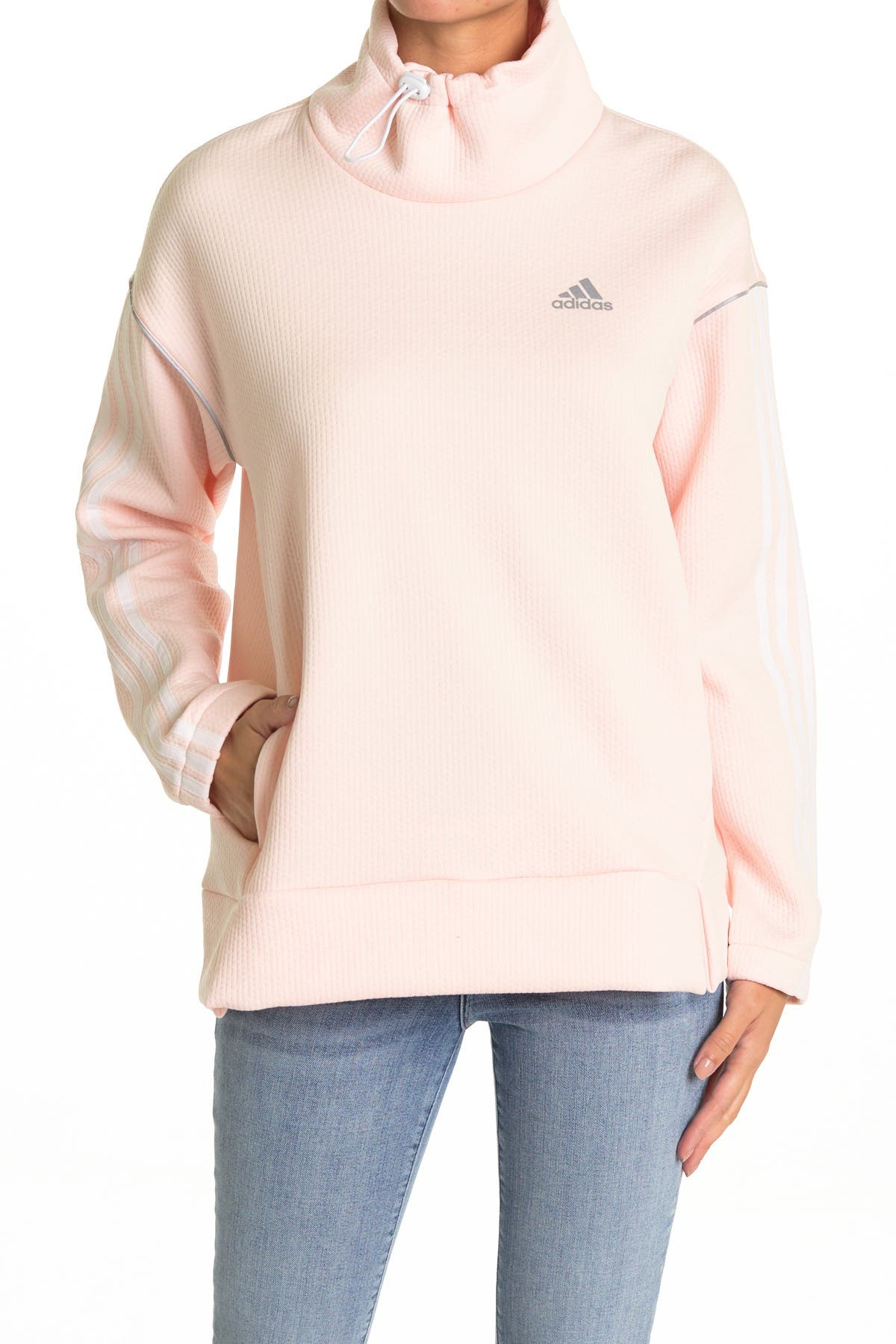 Image of adidas Funnel Neck Pullover