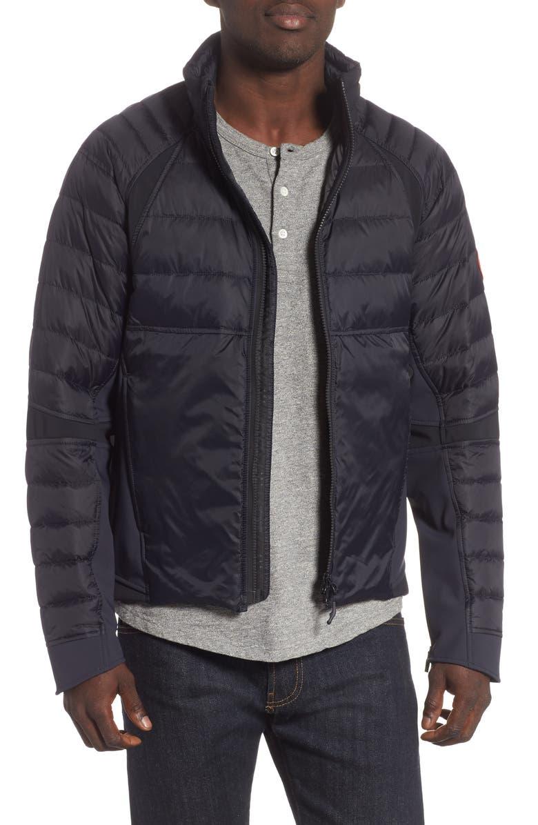 CANADA GOOSE HyBridge Perren  Slim Fit Packable Down Jacket, Main, color, NAVY