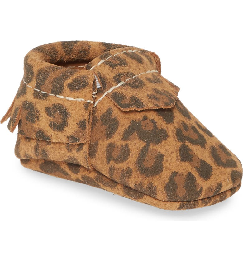 FRESHLY PICKED Leopard Print Moccasin, Main, color, 251