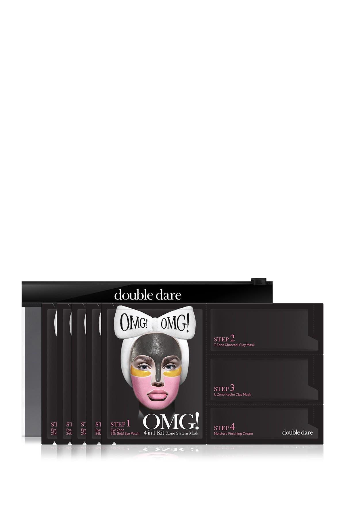 Image of Manuka Doctor OMG! 4-in-1 Zone System Mask Kit - Set of 5