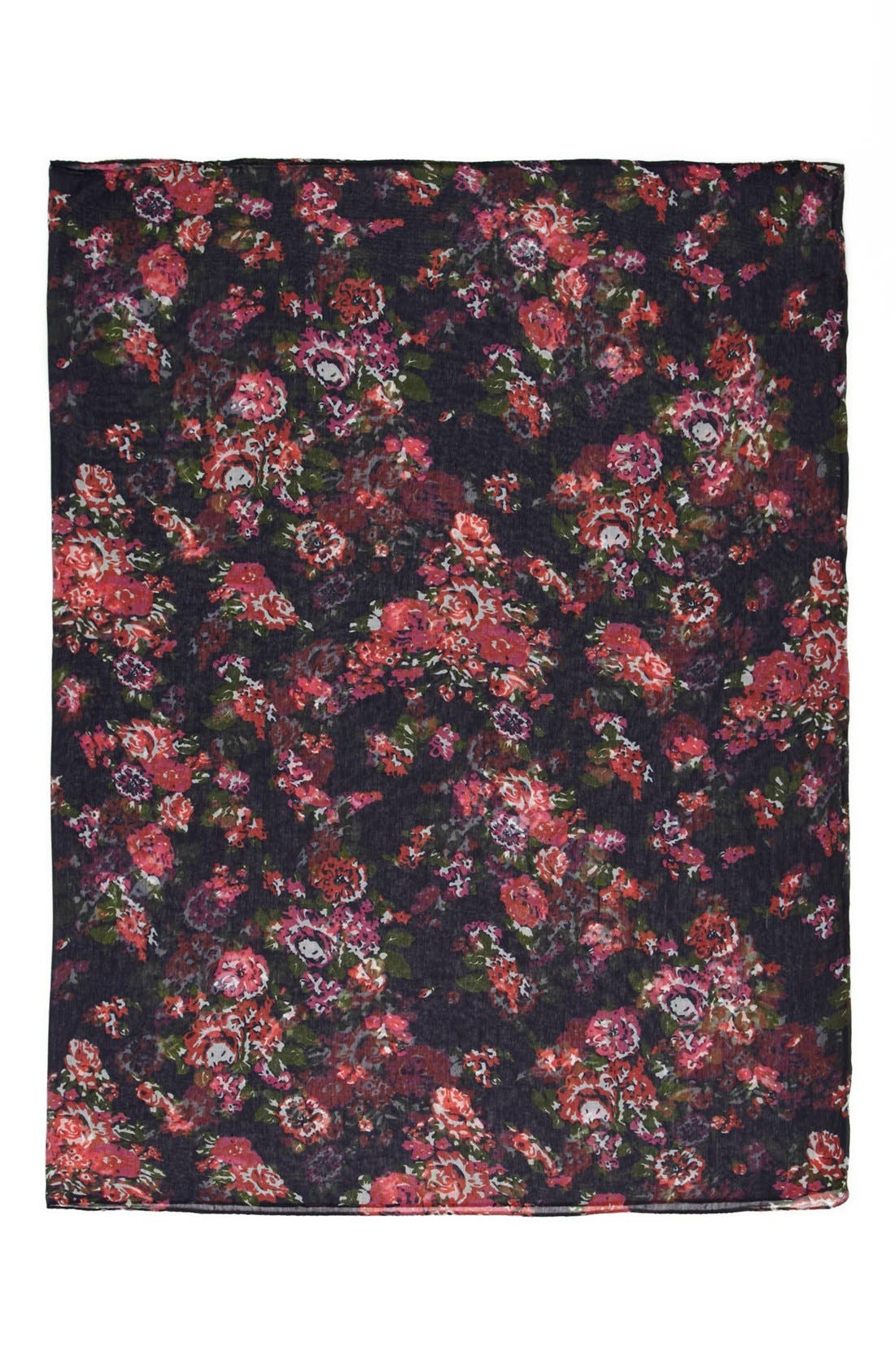 ,                             Capelli of New York 'All Over Flora' Infinity Scarf,                             Alternate thumbnail 2, color,                             411