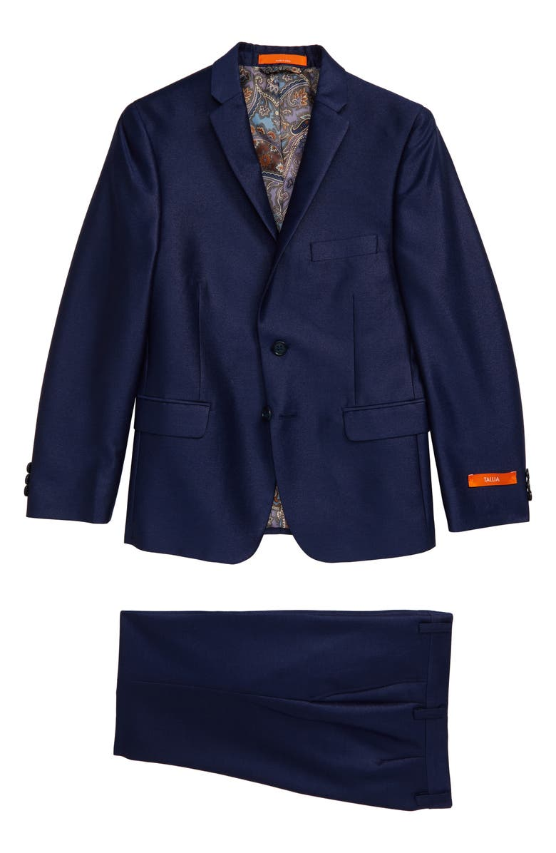 TALLIA Solid Nested Two-Piece Suit, Main, color, ROYAL BLUE