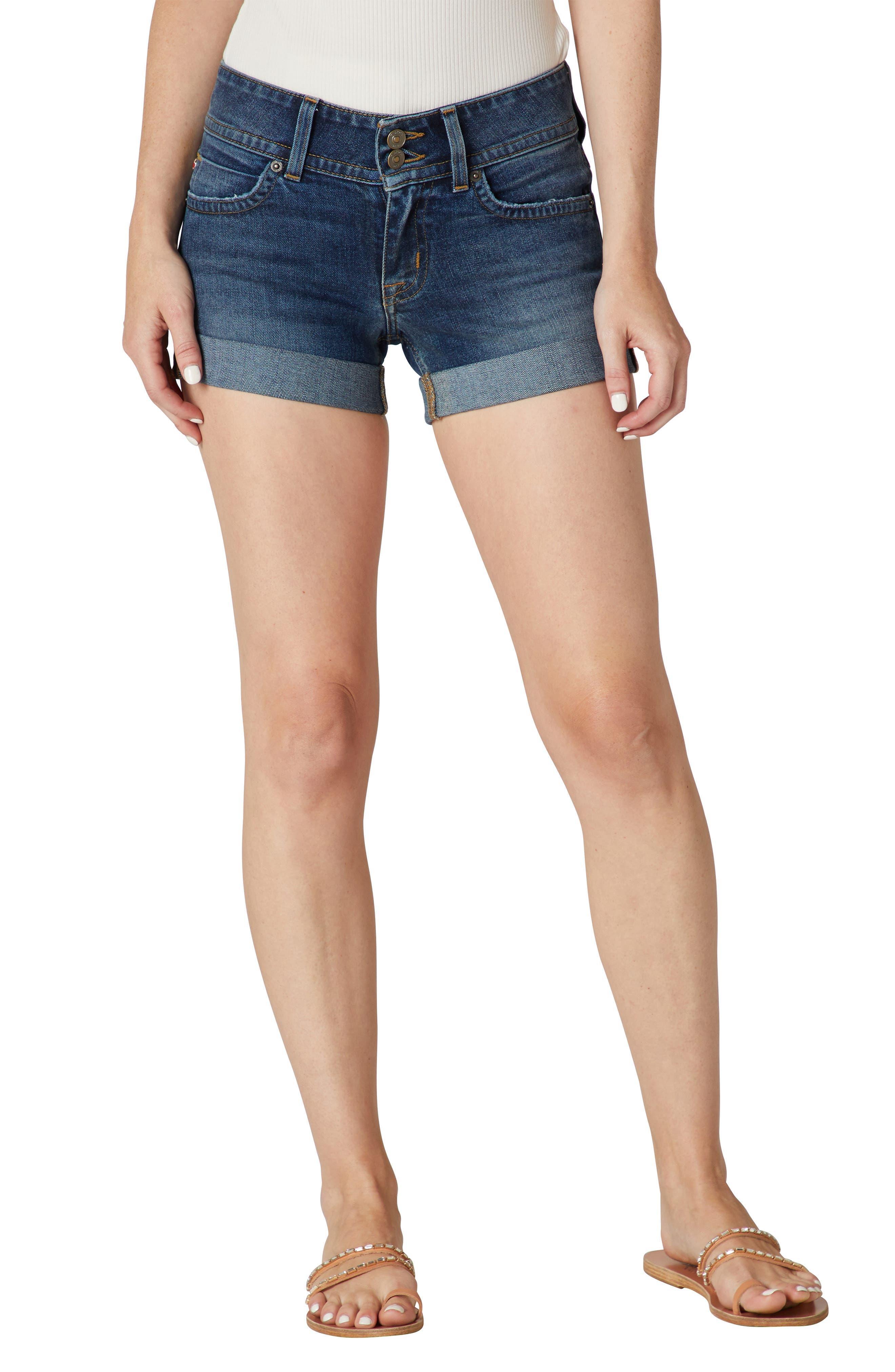 Croxley Cuff Denim Shorts