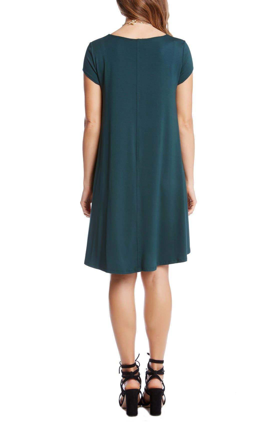 ,                             'Maggie' Cap Sleeve Trapeze Dress,                             Alternate thumbnail 11, color,                             305