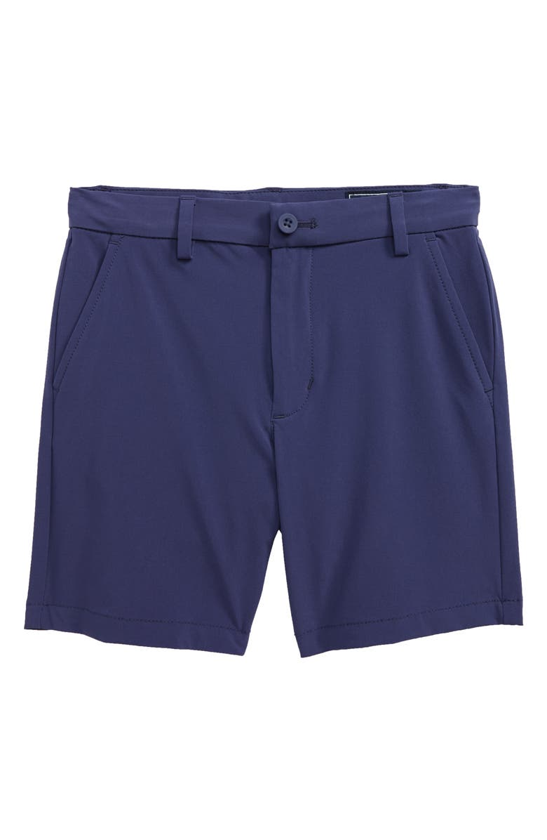 VINEYARD VINES Double Dye Performance Breaker Shorts, Main, color, DEEP COBALT