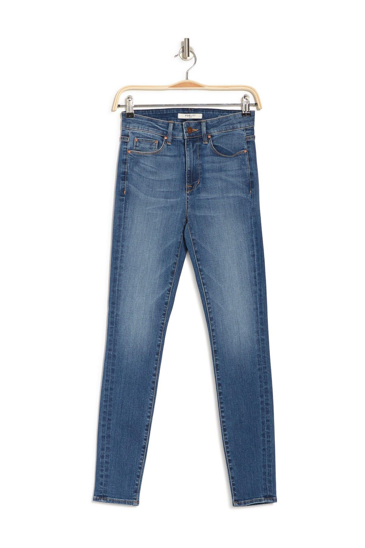 Fidelity Denim Jeans GWEN HIGH RISE SKINNY JEANS