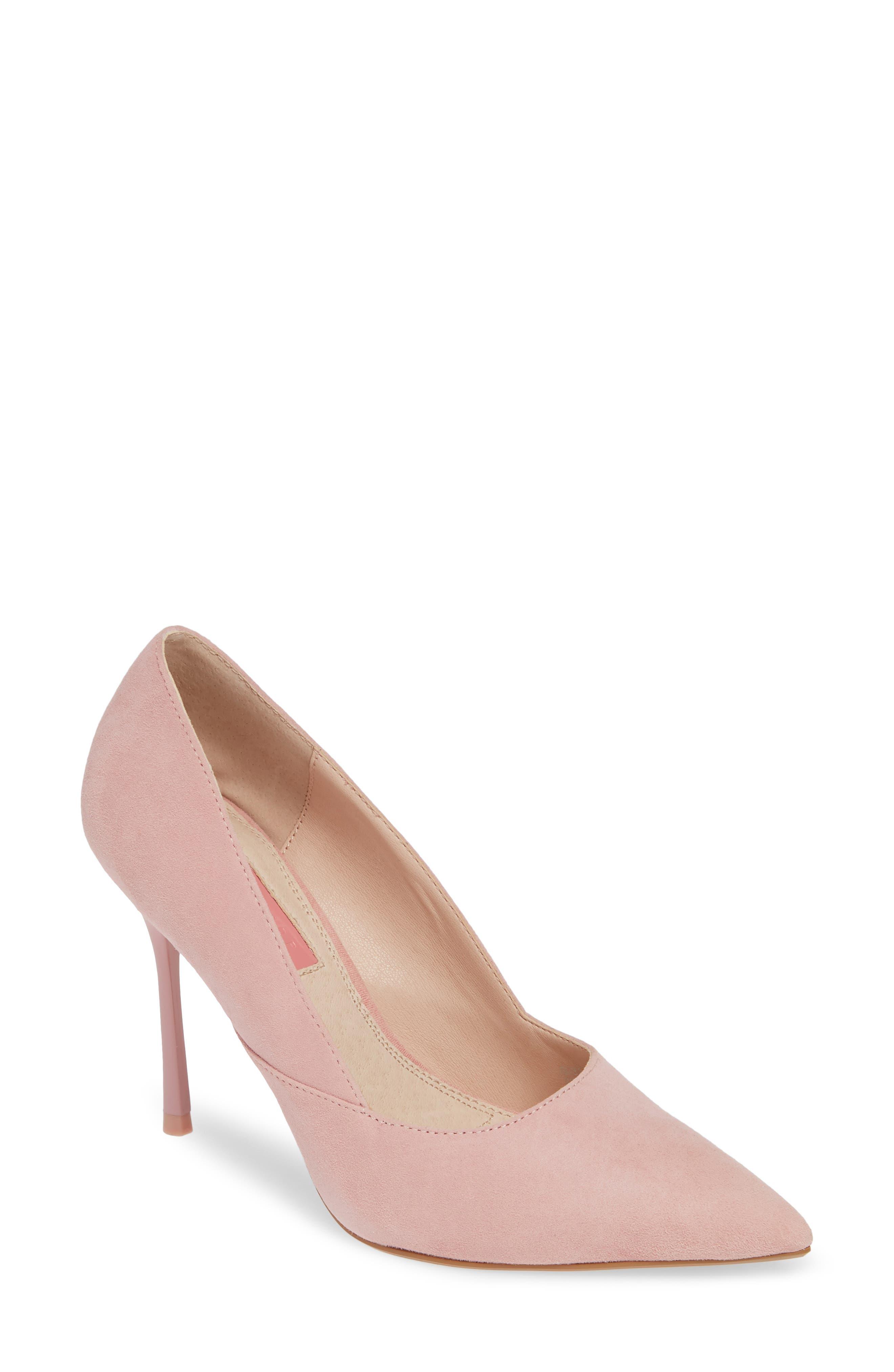 Topshop Gigi Skinny Heel Pump - Pink