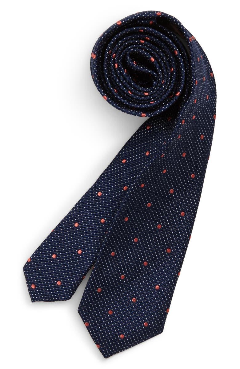 311ec8dd966a Michael Kors Shadow Dot Silk Tie (Big Boys)   Nordstrom