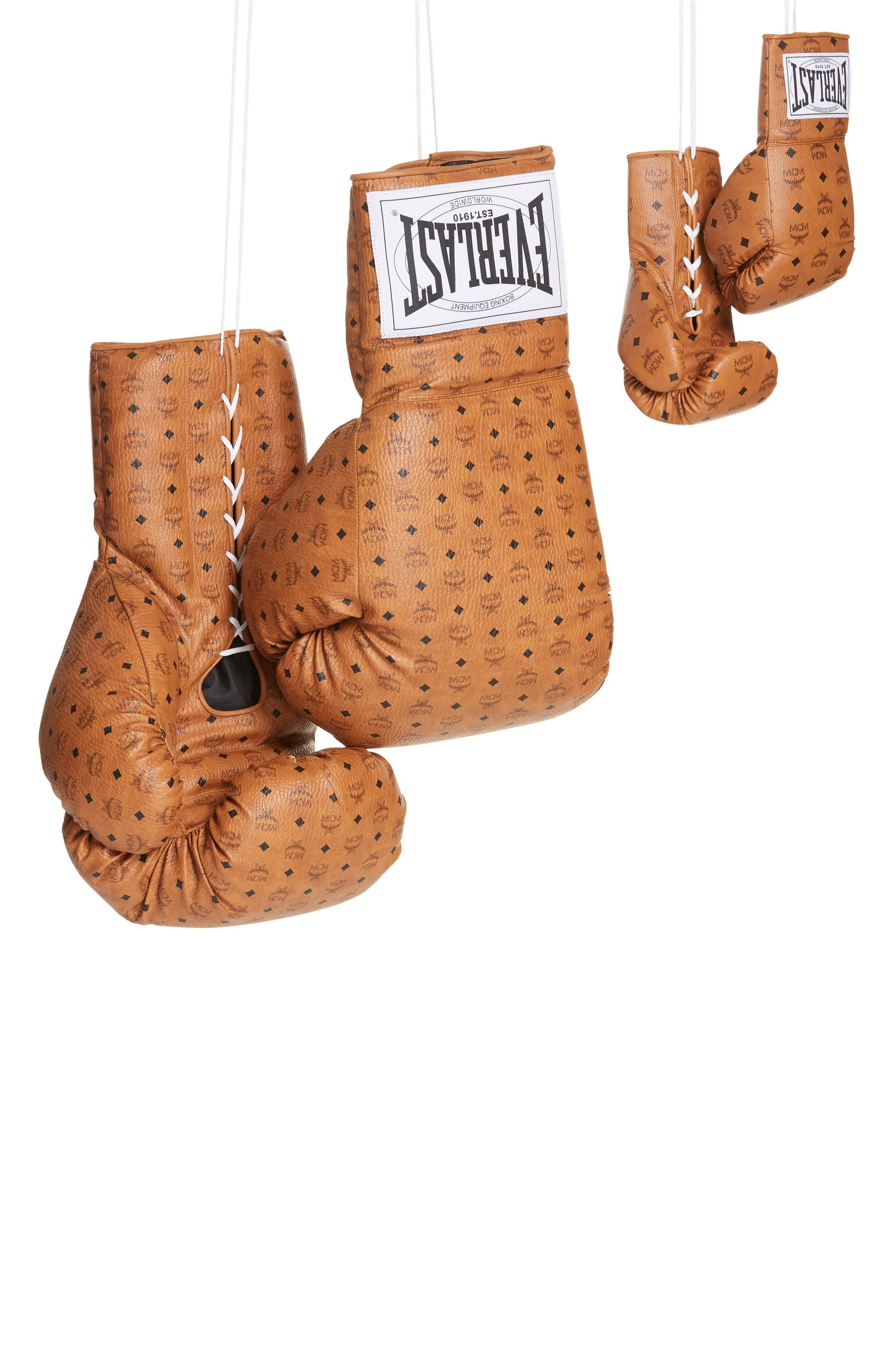 42da4509aa8 x MCM Lace Visetos Coated Canvas Powerlock Gloves