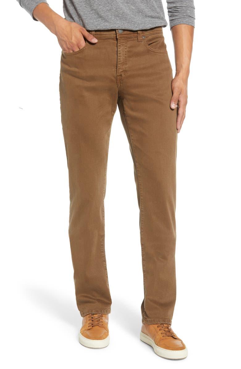 FIDELITY DENIM Jimmy Slim Leg Jeans, Main, color, TAUPE