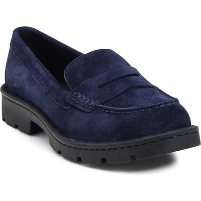 B?rn Loire Penny Loafer- Blue