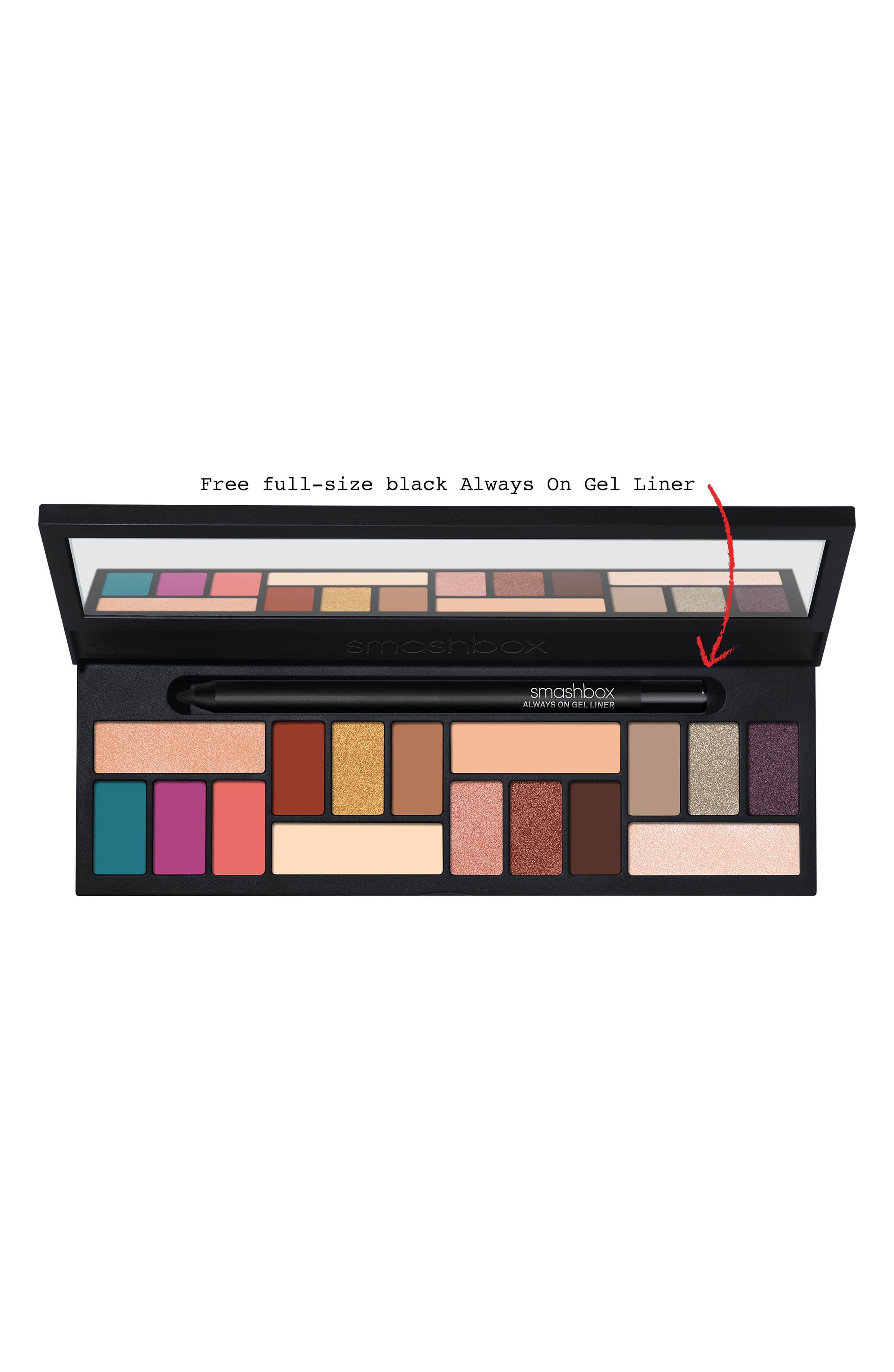 ,                             L.A. Cover Shot Eyeshadow Palette,                             Alternate thumbnail 7, color,                             NO COLOR