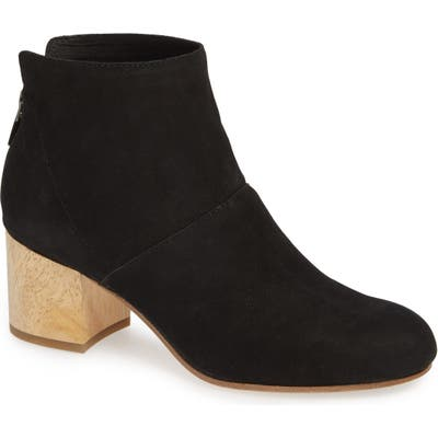 Eileen Fisher Suri Block Heel Bootie, Black