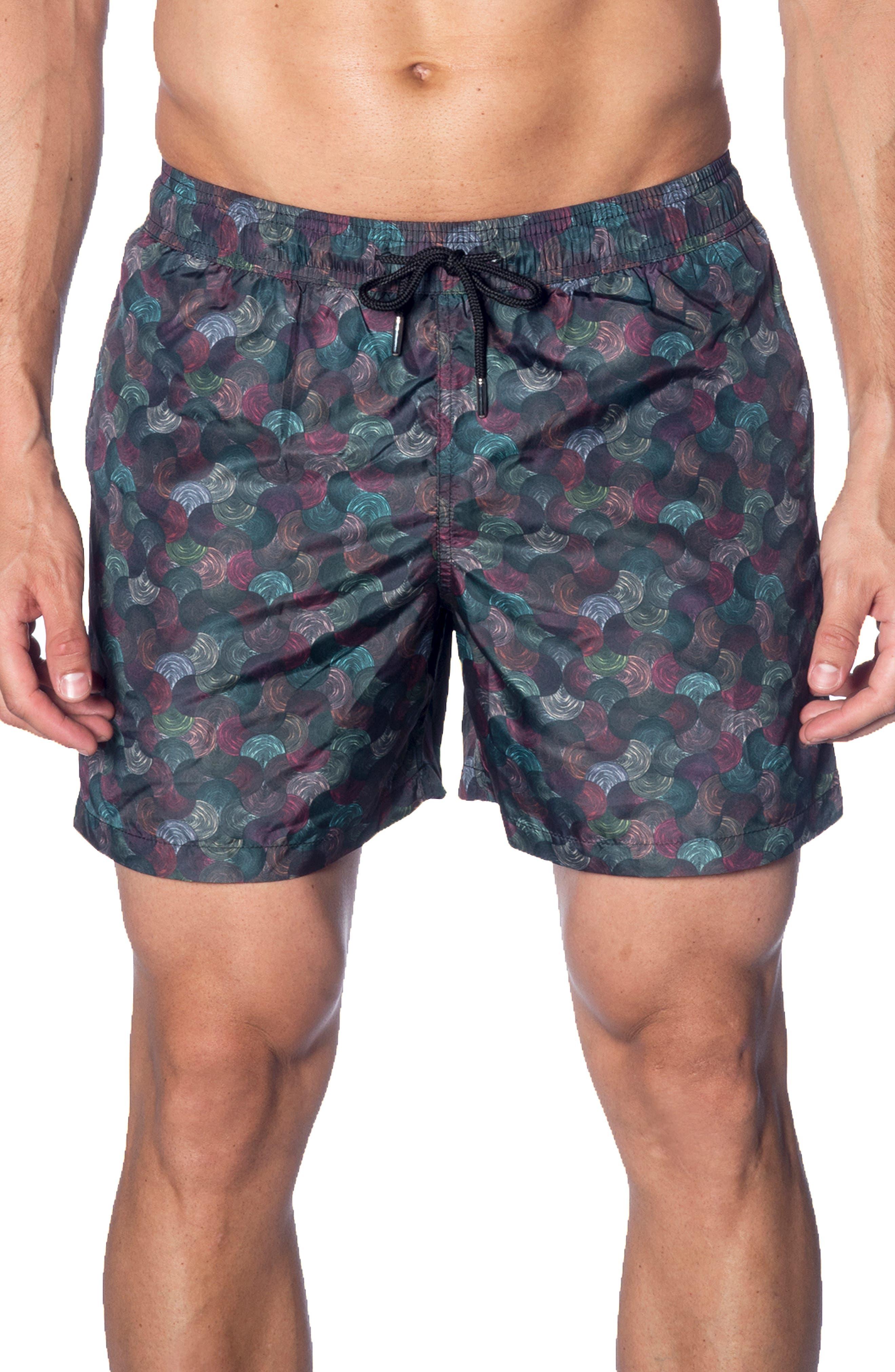 Jared Lang Swim Trunks, Green