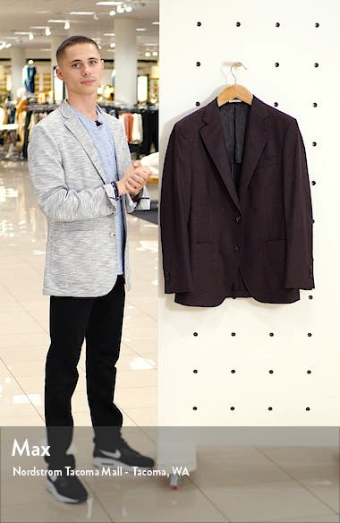 Hyperlight Classic Fit Solid Stretch Wool Sport Coat, sales video thumbnail