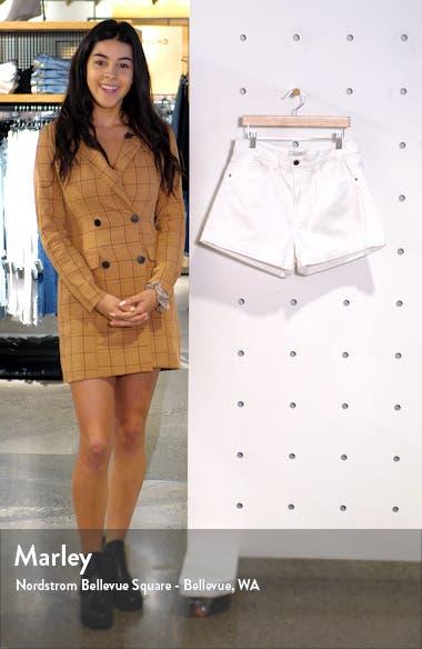 Roll Hem Denim Shorts, sales video thumbnail
