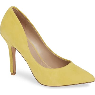 Charles By Charles David Maxx Pointy Toe Pump, Yellow