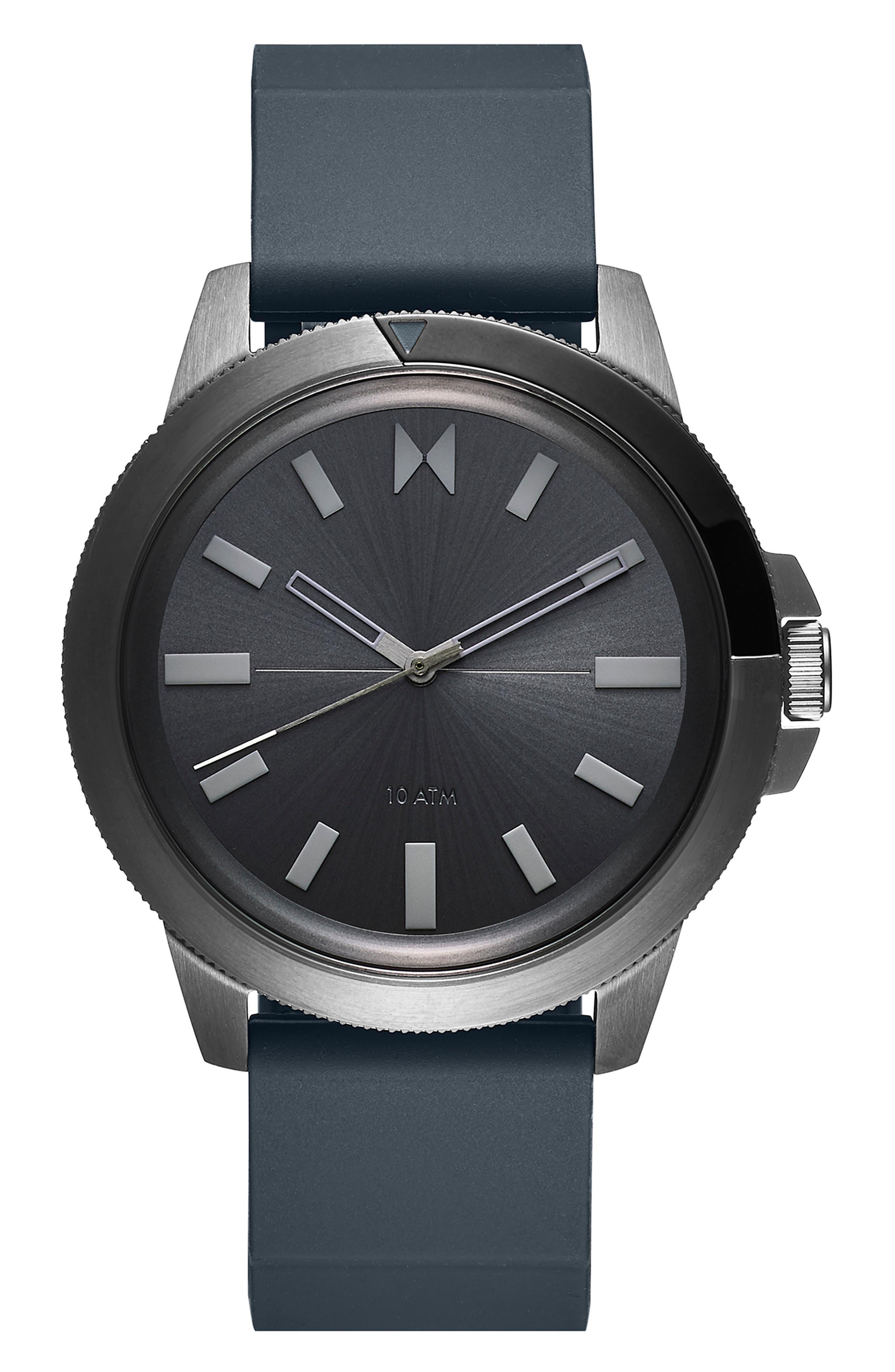 Minimal Sport Silicone Strap Watch