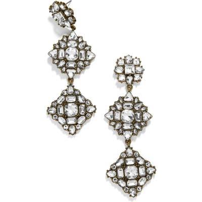 Baublebar Crystal Station Drop Earrings