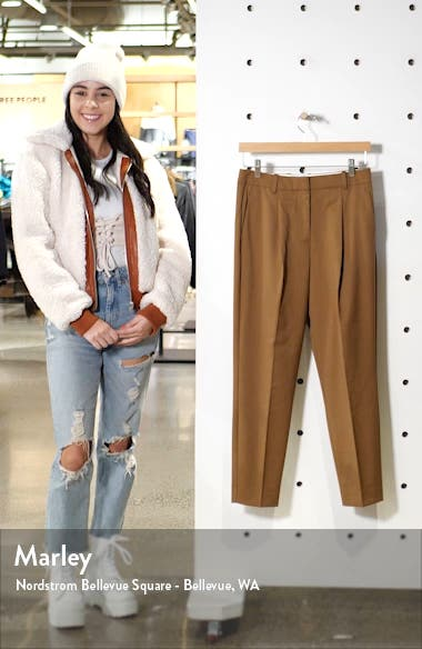 Quinne Boyfriend Tapered Trousers, sales video thumbnail