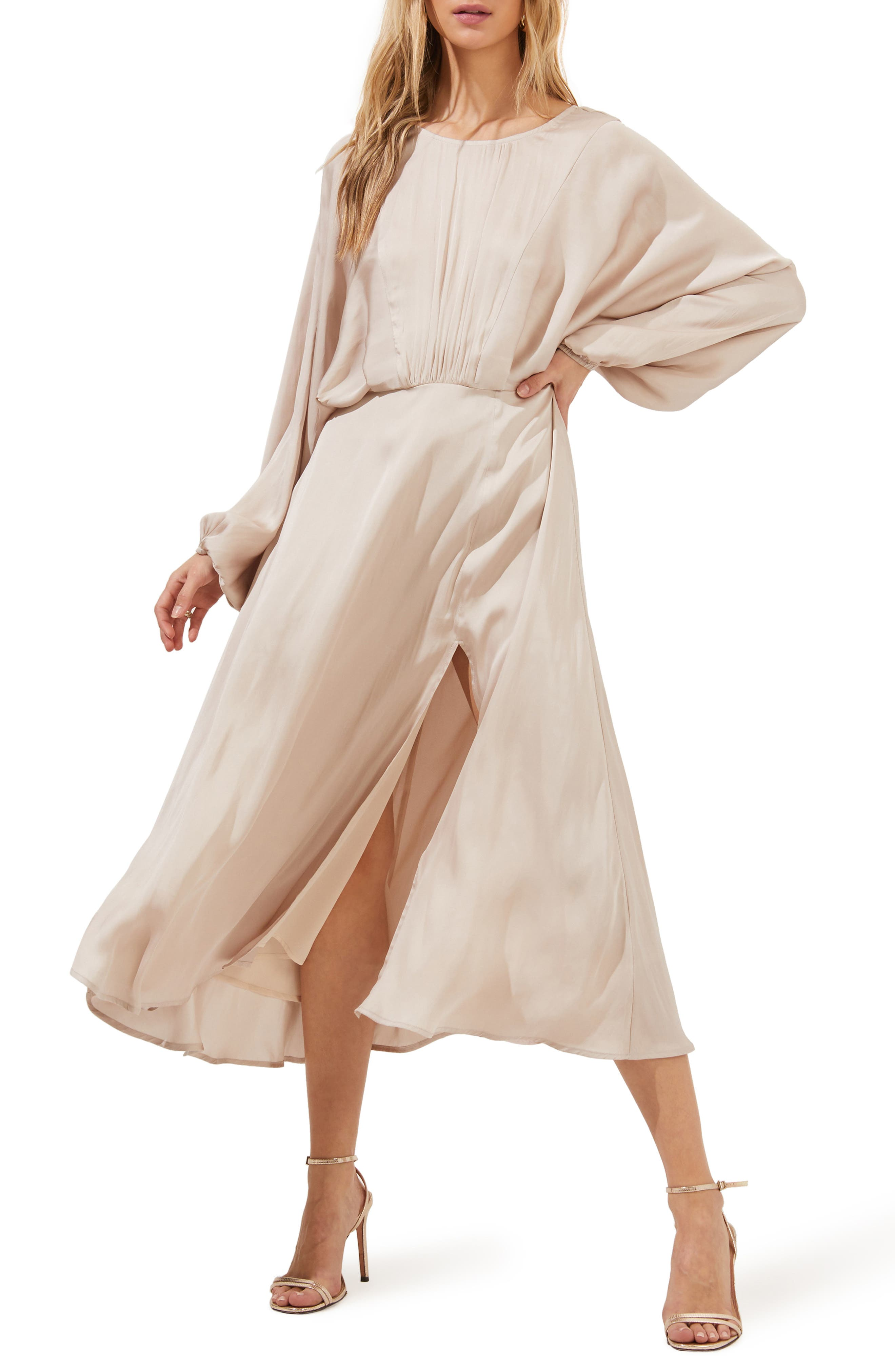 Long Dolman Sleeve Dress