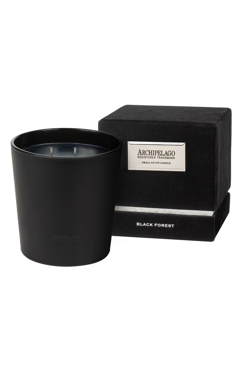 ARCHIPELAGO BOTANICALS Black Forest Soy Wax Candle, Main, color, BLACK FOREST
