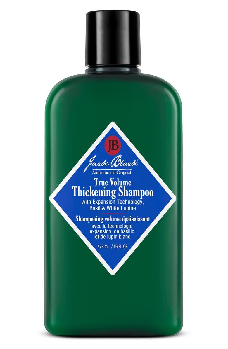 JACK BLACK True Volume Thickening Shampoo, Main, color, NO COLOR