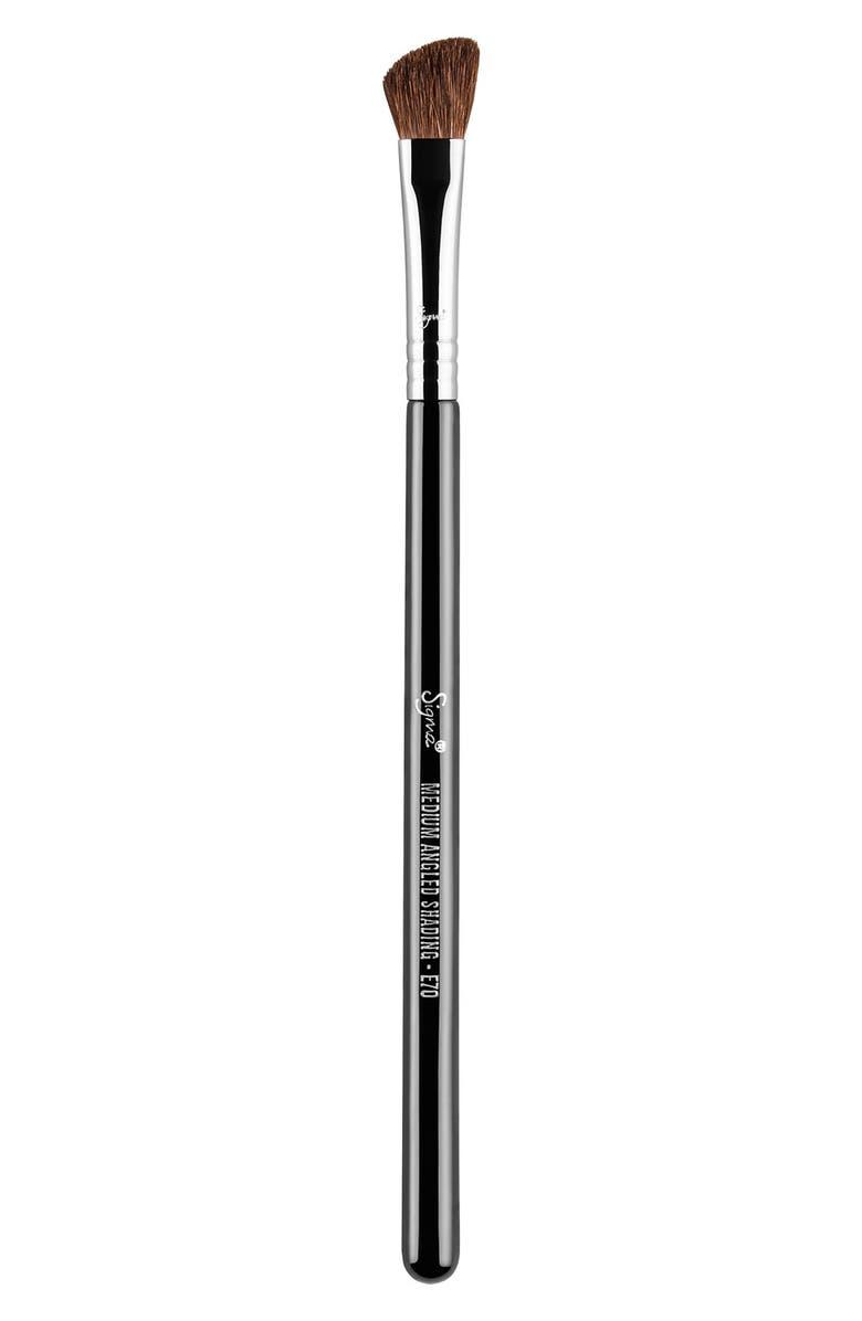 SIGMA BEAUTY E70 Medium Angled Shading Brush, Main, color, NO COLOR