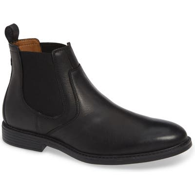 Johnston & Murphy Hollis Waterproof Chelsea Boot, Black