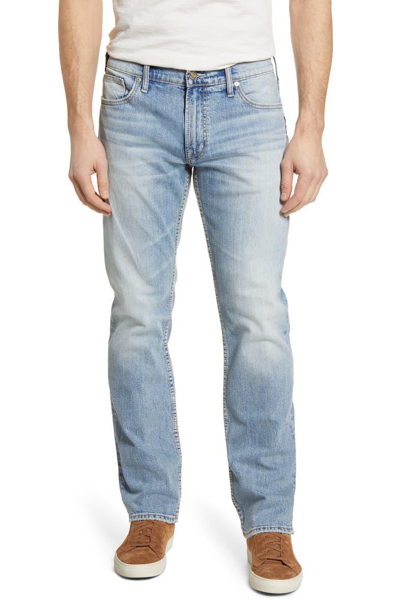 SILVER JEANS CO. Allan Straight Leg Jeans, Main, color, 402