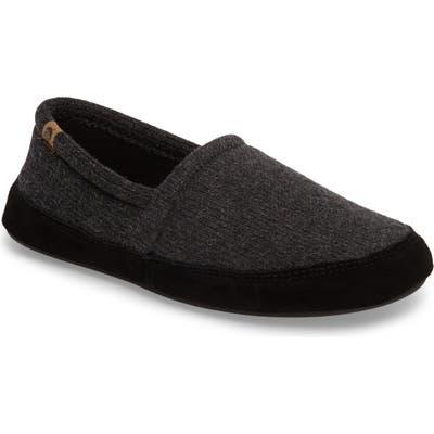 Acorn Moc Slipper, Grey