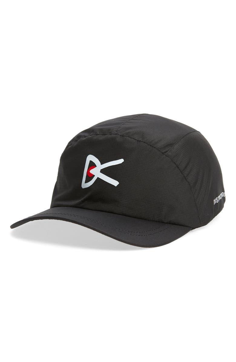 DISTRICT VISION Jeggi Running Cap, Main, color, BLACK