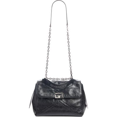 Givenchy Id Medium Leather Top Handle Bag - Black