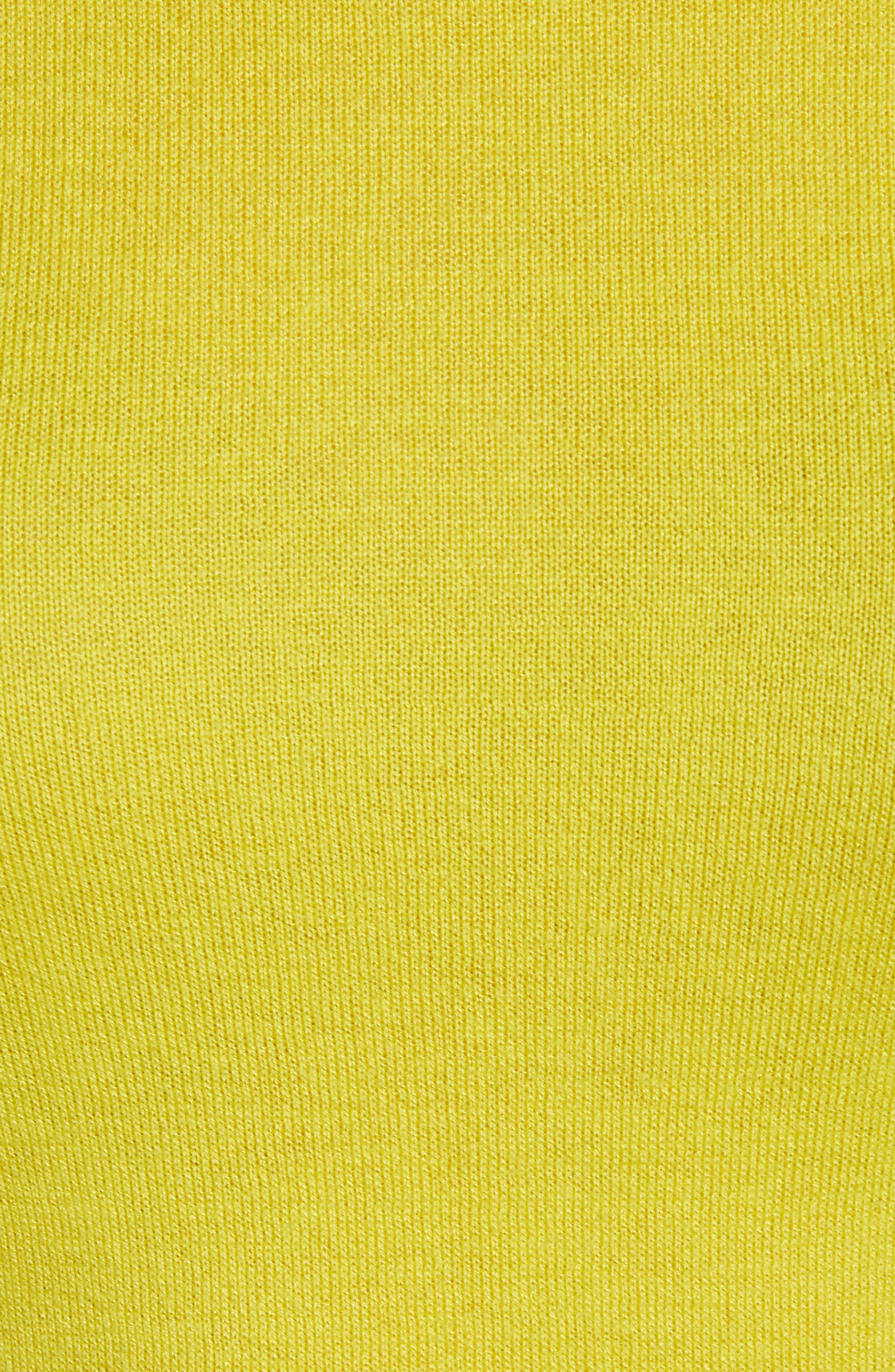 ,                             Cotton Blend Pullover,                             Alternate thumbnail 5, color,                             OLIVE WARM